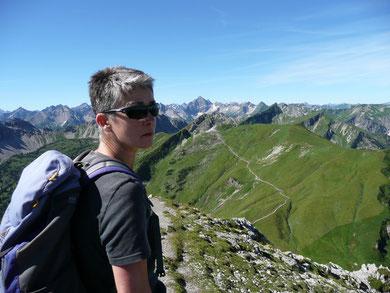 Am Gipfel der Sulzspitze
