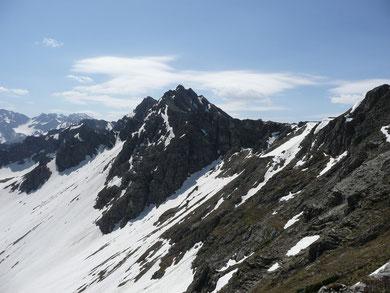 Blick zur Hochgehrenspitze