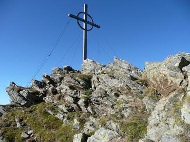 Am Gipfel der Kirchbachspitze