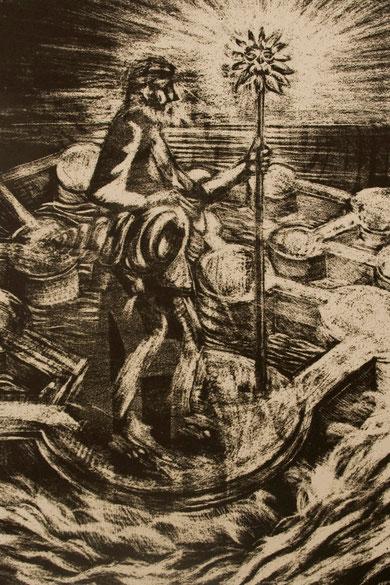 Manera negra litográfica
