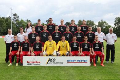 Aktuelles Teamfoto des FV Eintracht Niesky