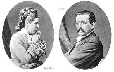 ----Berthe-Adele and Emmanuel Teilhard de Chardin-----