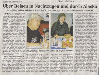 Wetterauer Zeitung, 19.11.11