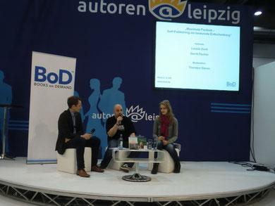 Interview auf der Leipziger Buchmesse mit Thorsten Simon und Leonie Zoch