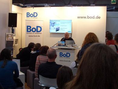 Gerrit Fischer liest auf der Leipziger Buchmesse