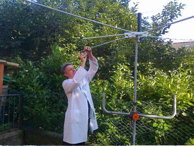 GPO - Attività di setting antenna cobwebb