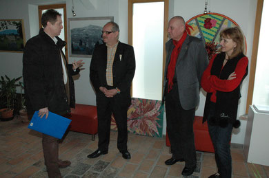 Hannes Steindl, Karl J. Mayerhofer, Manfred M. Hrubant, Mag. Silvia Schweighofer