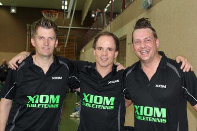 von links: Wolfgang Bahns, Marvin Schlicker und Christian Schrand