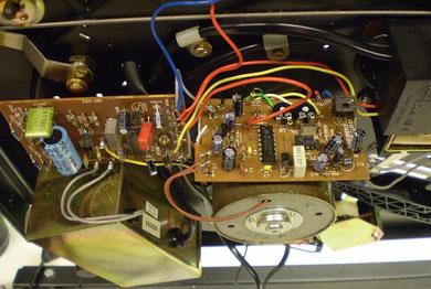 Elektronikplatinen restauriert