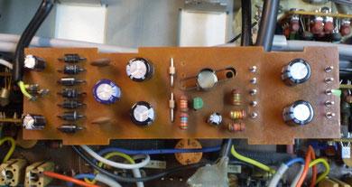 Netzteilplatine DUAL CV 240 restauriert