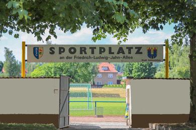 Rasenplatz an der Fr.-L. Jahnallee