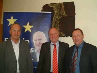 Leo Wiesinger, Prof. Dr. Joe Weidenholzer und Gerhard Öller