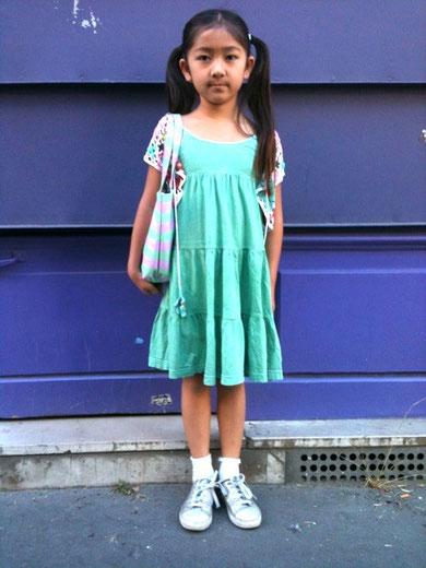 パリ、子供、ファッション