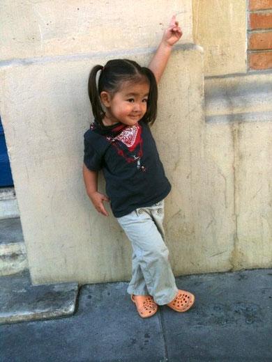 パリ、子ども、子育て、ファッション、スナップ