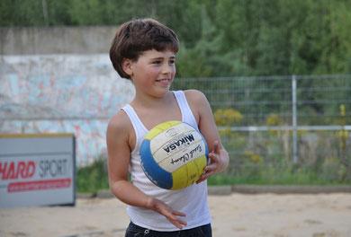 試合には子供達も参加します。