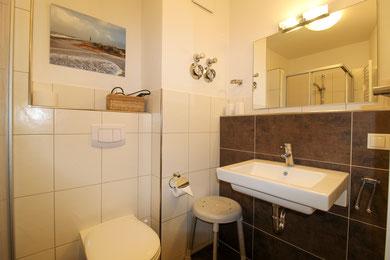 Ferienwohnung Cuxhaven Duhnen 3.23 Badezimmer
