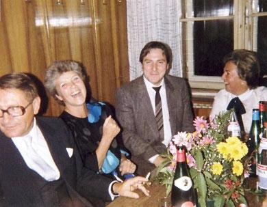 Im Konferenzzimmer um 1985