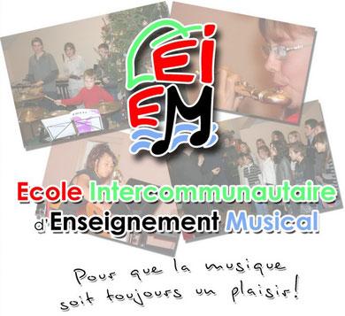 Logo École Intercommunautaire d'Enseignement Musical - EIEM