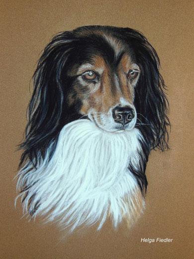 6 Jahre nach seinem Tod hat ihn Helga Fiedler gemalt