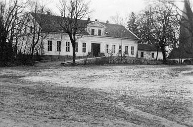 Das Wohnhaus des Gutes vor dem Krieg