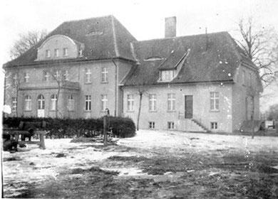 vor 1945 - Gutshaus Ablenken (Rückseite)