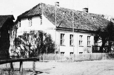 vor 1945 - Wohnhaus der Mühle Ablenken