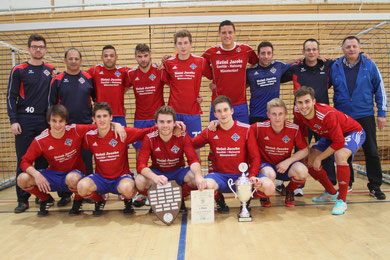 Bild:Der TSV Lägerdorf hat den Titel bei den Hallen-Kreismeisterschaften