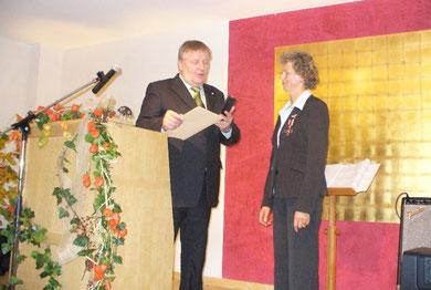Landwirtschaftsminister Ehlen mit Frau Blohm