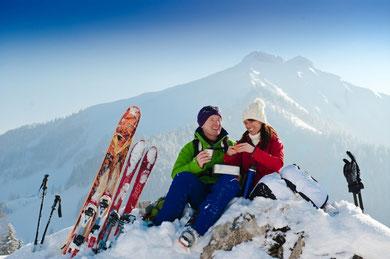 Skitour auf die Loibersbacher Höhe           © Tourismusverband Faistenau