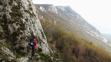 sur les cretes des alpes juliennes
