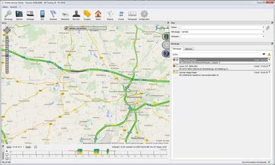 Reisebus und Linienbus mit GPS orten