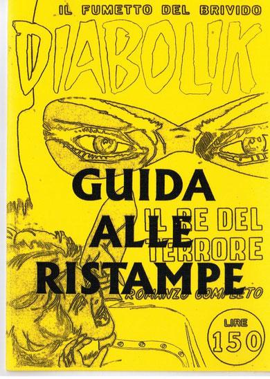 La copertina della Fanzine