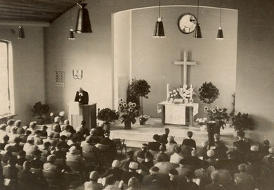 Einweihungspredigt 8. September 1957