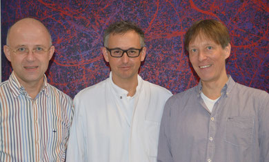 Dr. Böhmeke, Dr. Haurand, Dr. Schmidt in der SEKardio