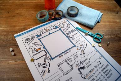 Steckbrief mit Sketchnotes