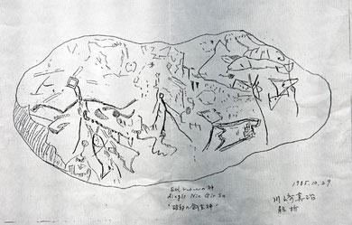 川崎真治氏の解析した絵図