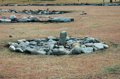国内最大の環状列石(ストーンサークル)
