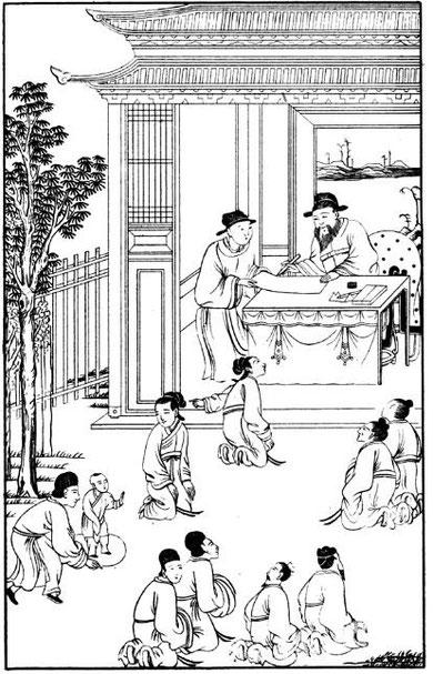 Le juge Pao-tching et le cercle de craie