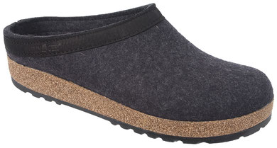 Haflinger German Slippers Grizzly Leather