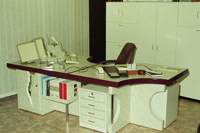 mein 6-teiliger Schreibtisch