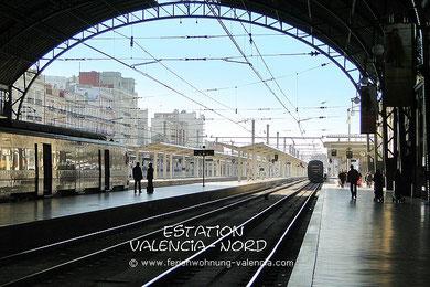 Grafik-Uhr, fahrplan von Gandia nach Valencia