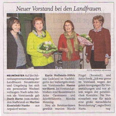 """""""Holsteinischer Courier"""", 27. Februar 2020 ;  bitte anklicken"""