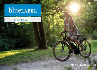 Blue Label Hybrid e-Bikes 2014