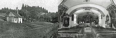 Bründlkirche (nach 1930), Inneres (1923)