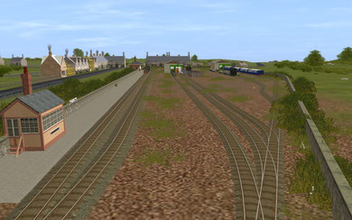 King Orry's Bridge Station and Yards