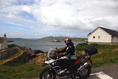Kisimul Castle, der alte Sitz des Clan MacNeil - Castlebay Insel Barra