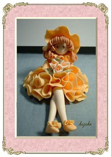 フリル人形