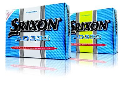 Srixon Golfbälle, Srixon AD333, Logo Golfbälle, bedruckte Golfbälle, Srixon Golfbälle bedrucken Golfbälle mit Aufdruck, Werbemittel Golfbälle, Logo Golfbälle Srixon, Logo Golfball, AD333 Golfbälle