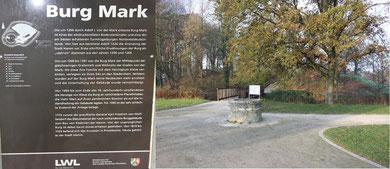 Abb. 6: Die Burg Mark, vormals ein Tropaeum  des Drusus ?