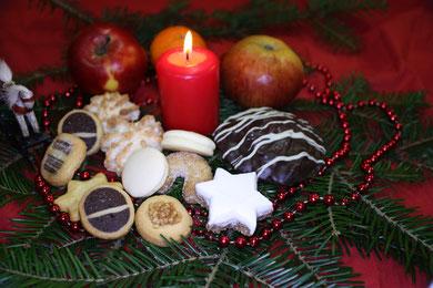 Weihnachtsdeco aus eigener herstellung